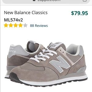 Men's New Balance 574